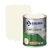 Sigma houtlak exterieur zijdeglans RAL 9001 crème wit 750 ml