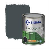 Sigma houtlak exterieur zijdeglans RAL 7016 antracietgrijs 750 ml