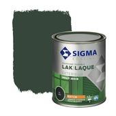 Sigma houtlak exterieur zijdeglans RAL 6009 dennengroen 750 ml