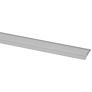 CanDo Traprenovatie Zelfklevende Antislip Strip Aluminium 6,6x130 cm - 4 Stuks