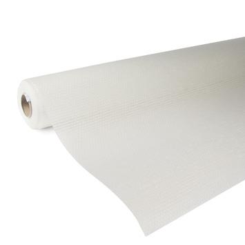 OK glasweefselbehang standaard ruit wit 95 gram - 50 m (dessin P251-50)