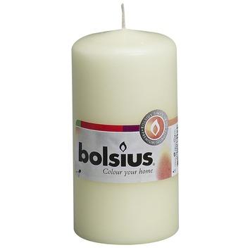 Bolsius stompkaars ivoor 120x60
