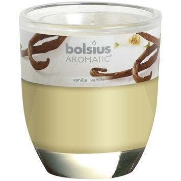 Bolsius geurglas vanilla 80x70