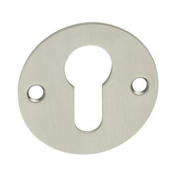 KARWEI cilinderplaatje plat mat nikkel