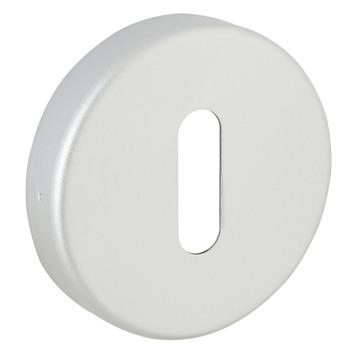 KARWEI sleutelplaatje rond aluminium 2 stuks