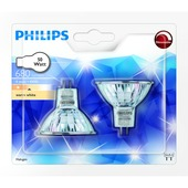 Philips halogeenspot reflector GU5.3 50W 2 stuks