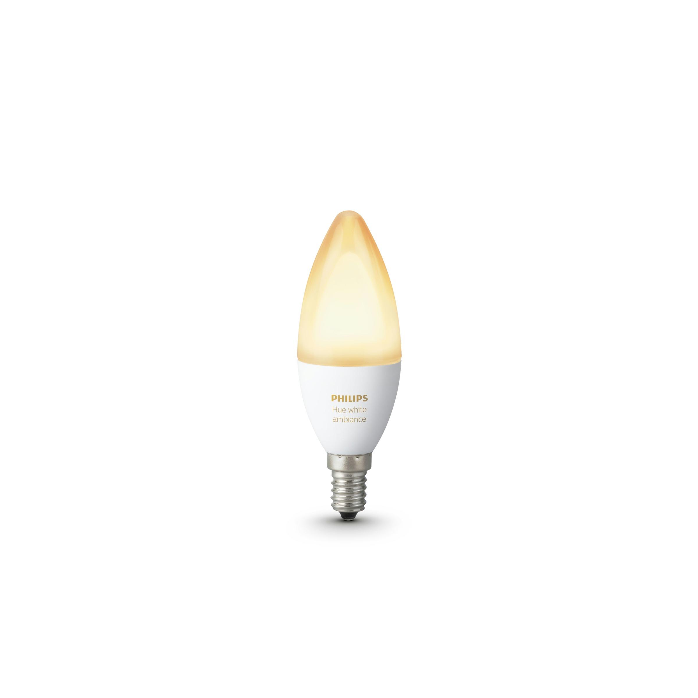 Philips Hue Single Bulb E14 White Ambiance