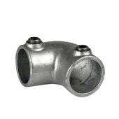 Novidade steigerbuis koppelstuk kniestuk 42 mm verzinkt