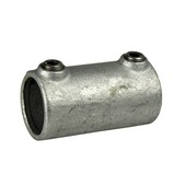 Novidade steigerbuis koppelstuk koppelmof 42 mm verzinkt