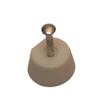 HANDSON kastplankdrager met nagel wit (20 stuks)