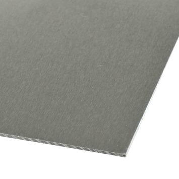 Plaat aluminium 1000x 500x0,5 mm