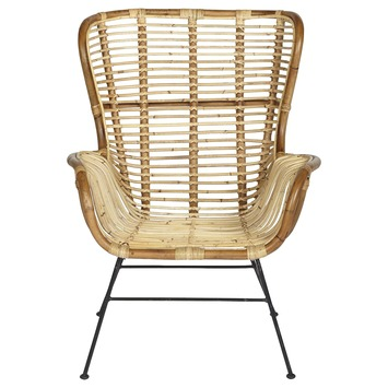 Fauteuil Lilly rotan