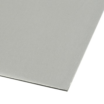 Plaat aluminium geanodiseerd 1000x500 mm