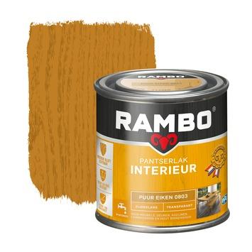 Rambo pantserlak interieur transparant zijdeglans puur eiken 250 ml