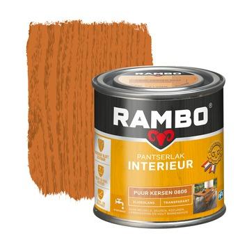 Rambo pantserlak interieur transparant zijdeglans puur kersen 250 ml