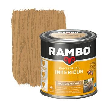 Rambo pantserlak interieur transparant zijdeglans puur grenen 250 ml