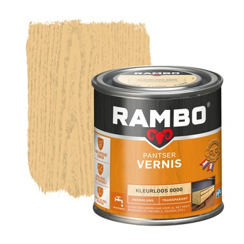 Rambo pantser vernis hoogglans kleurloos 250 ml