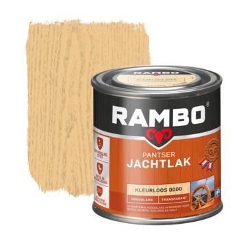 Rambo pantser jachtlak transparant hoogglans kleurloos 250 ml