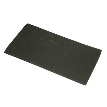 HANDSON anti-slip rubber zwart 50x100 mm