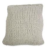 Kussen Knitted steengrijs 45x45