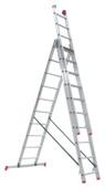 Altrex reform ladder 3 x 10 treden; werkhoogte 750cm