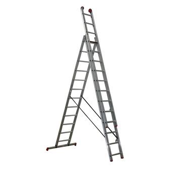 Altrex ladder All Round reform 3x12 treden; werkhoogte 845 cm