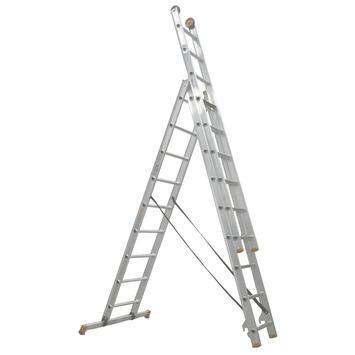 Altrex ladder All Round reform 3x9 treden; werkhoogte 675 cm