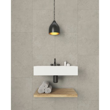 Grosfillex paneel GX Wall cement beige afm. 30x60 cm 1,98 m², 11 stuks