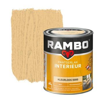 Rambo pantserlak interieur transparant mat kleurloos 750 ml