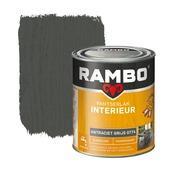 Rambo pantserlak interieur transparant zijdeglans antraciet grijs 750 ml