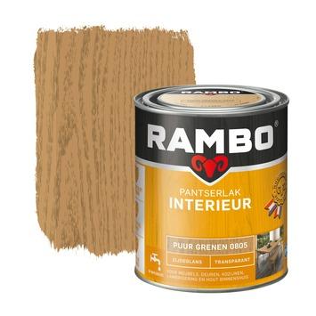 Rambo pantserlak interieur transparant zijdeglans puur grenen 750 ml