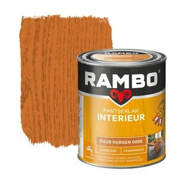 Rambo pantserlak interieur transparant zijdeglans puur kersen 750 ml