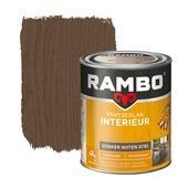 Rambo pantserlak interieur transparant zijdeglans donker noten 750 ml