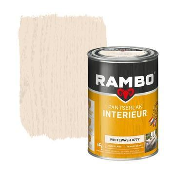 Rambo pantserlak interieur transparant zijdeglans whitewash 1,25 l