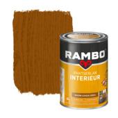 Rambo pantserlak interieur transparant zijdeglans warm eiken 1,25 l