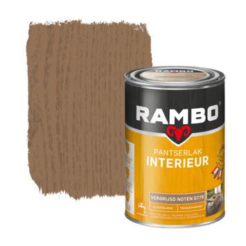 Rambo pantserlak interieur transparant zijdeglans vergrijsd noten 1,25 l