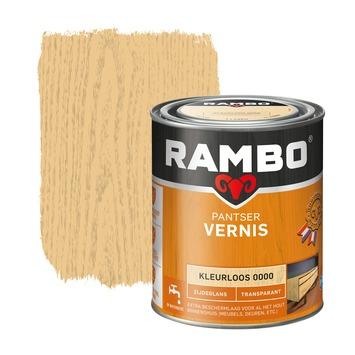 Rambo pantser vernis zijdeglans kleurloos 750 ml