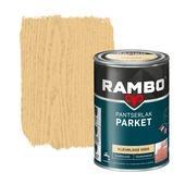 Rambo pantserlak parket transparant zijdeglans kleurloos 1,25 l