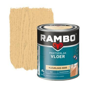 Rambo pantserlak vloer transparant mat kleurloos 750 ml