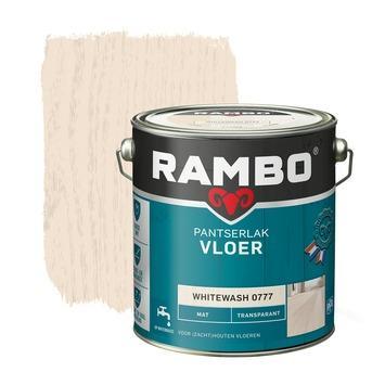 Rambo pantserlak vloer transparant mat whitewash 2,5 l