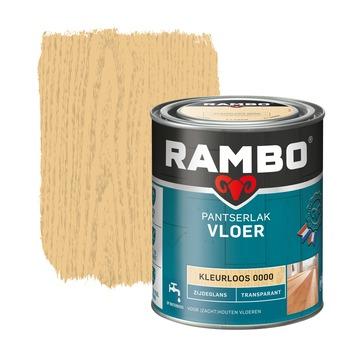 Rambo pantserlak vloer transparant zijdeglans kleurloos 750 ml