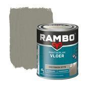 Rambo pantserlak vloer transparant zijdeglans greywash 750 ml