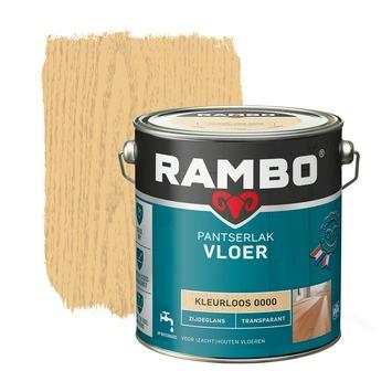 Rambo pantserlak vloer transparant zijdeglans kleurloos 2,5 liter