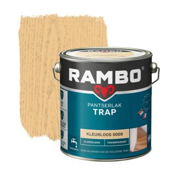 Rambo pantserlak trap transparant zijdeglans kleurloos 2,5 l