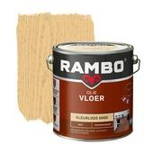 Rambo vloer olie transparant mat kleurloos 2,5 l