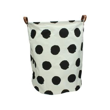 Mand bag textiel print 2 mix 50x40x40 cm