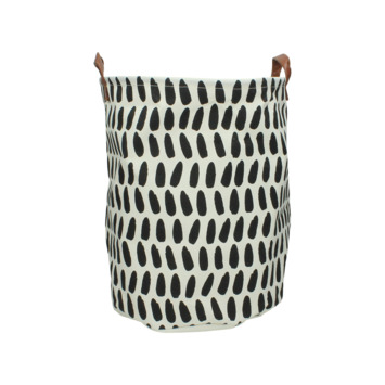 Mand bag textiel print 1 mix 40x33x33 cm