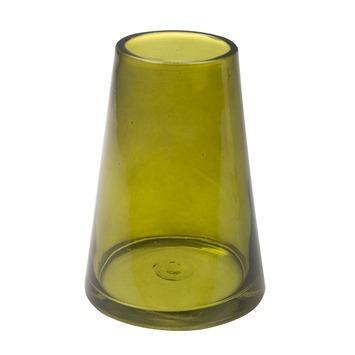 Iconische vaas oker geel 15x7x10,8 cm