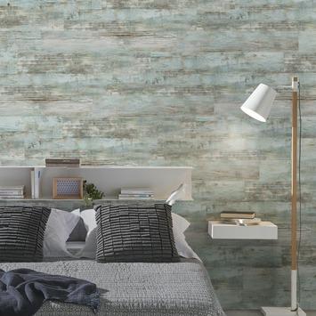 Wandbekleding Grosfillex Gx Wall Vintage blue (ca. 1,11 m2)