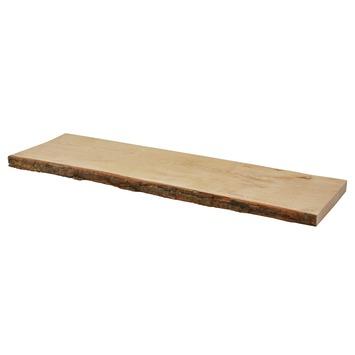 Duraline wandplank eikenfineer met schors 80 cm kopen for Zwevende plank karwei
